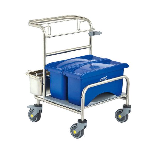 Úklidový vozík Clino® CR1 EM-CR