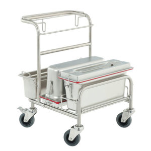 Úklidový vozík do čistých prostor Clino CR1 EM-GMP