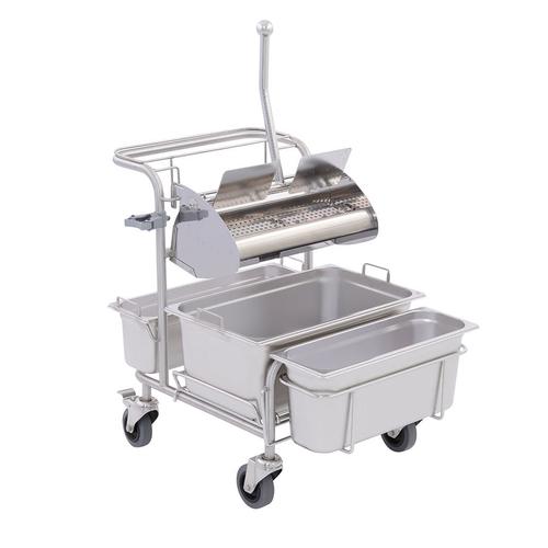 Úklidový vozík pro čisté prostory Clino® CR1 FP-GMP