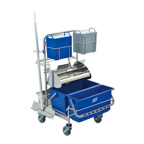 Úklidový vozík pro čisté prostory Clino® CR4 FP-CR