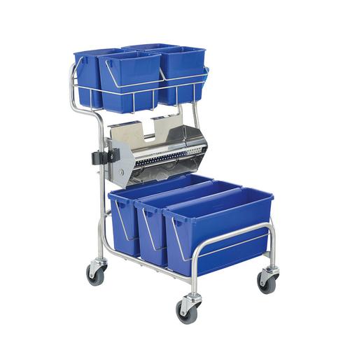 Úklidový vozík pro čisté prostory Clino® CR6 FP