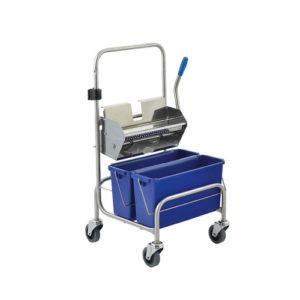 Úklidový vozík pro čisté prostorClino® CR6xs FP