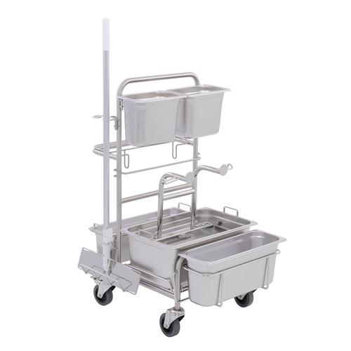 Úklidový vozík Clino® CR4 MF-GMP