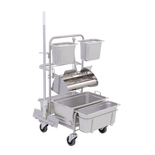 Úklidový vozík pro čisté prostory Clino® CR4 FP-GMP