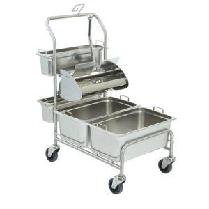 Úklidový vozík pro čisté prostory Clino® CR3 FP-GMP